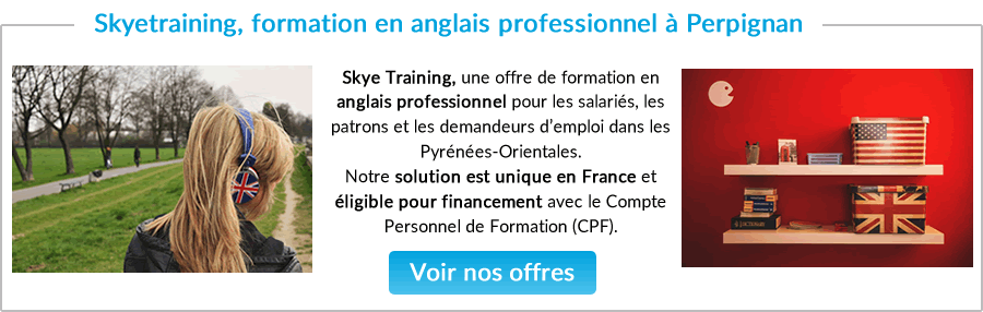formation business anglais Narbonne